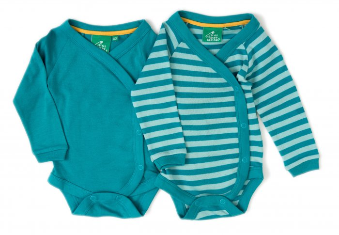 LGR Long Sleeve Babywrap x 2 - Turquoise