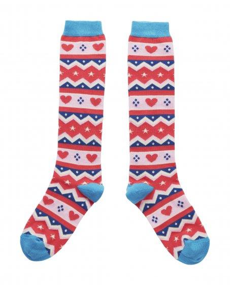 Piccalilly Fair Isle Socks