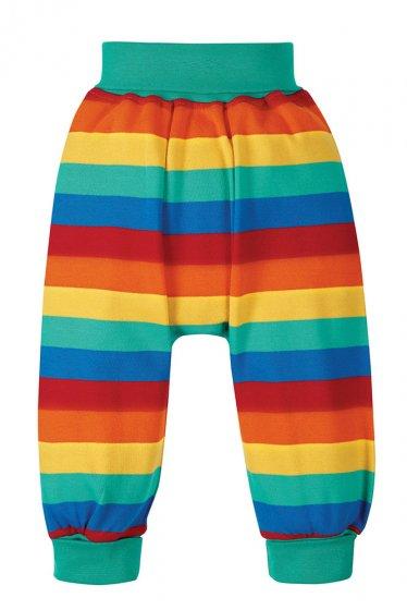 Frugi parsnip rainbow pants