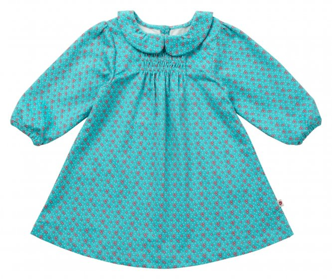 Piccalilly Peacock Daisy Cord Party Dress