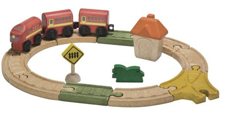 Plan Toys Oval Railway PlanWorld