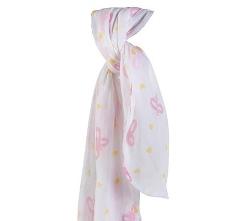 Piccalilly Butterfly Muslin Swaddle