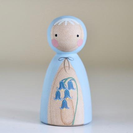 Peepul Bluebell Peg Doll