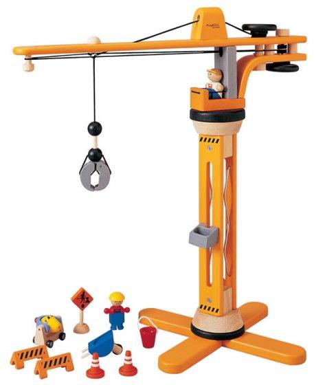 Plan Toys Crane Set PlanWorld