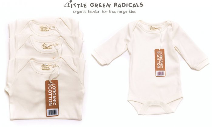 LGR 3 Pack LS Baby Bodies