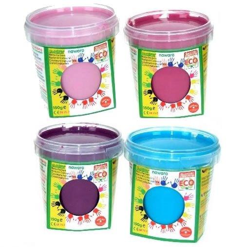 OkoNorm Finger Paints 4 Pastel Colours