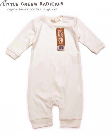 LGR Natural Playsuit