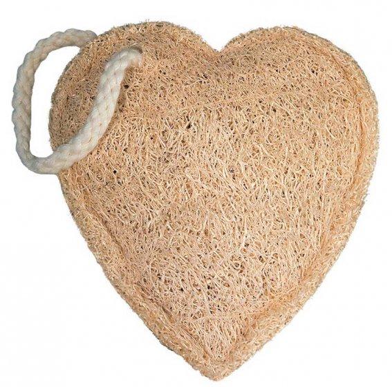 Croll & Denecke Heart Loofah Sponge
