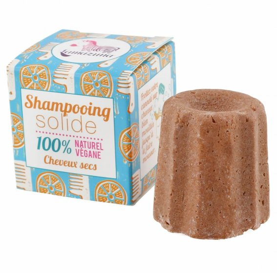Lamazuna Solid Shampoo Dry Hair - Orange