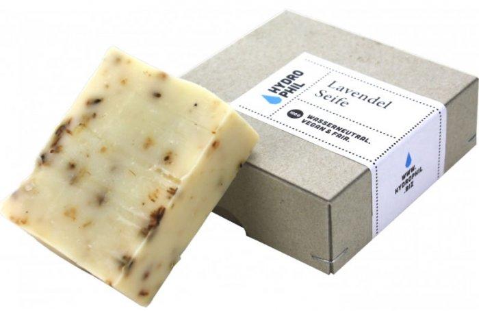 Lavender solid shampoo & body Bar Hydrophil