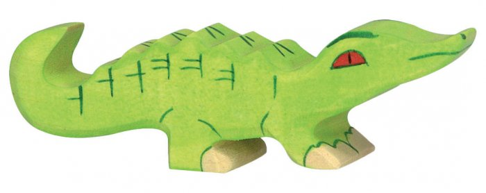 Holztiger Small Crocodile