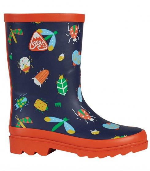Frugi Explorer wellington bug boots