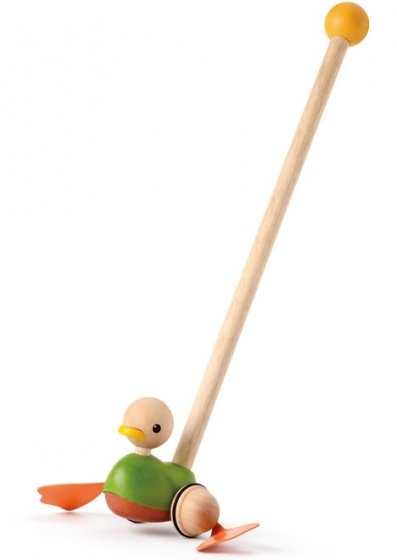 Plan Toys Push Along Duck