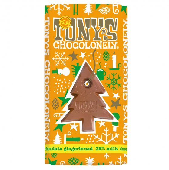 Tony's Chocolonely Gingerbread Chocolate 180g