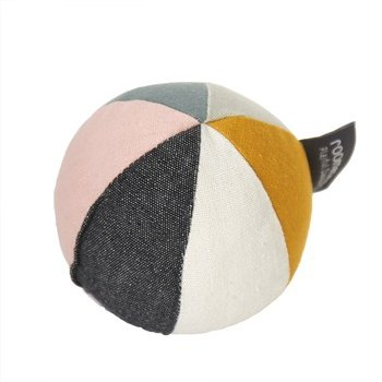 Roommate Canvas Ball With Bell - Sea Gray