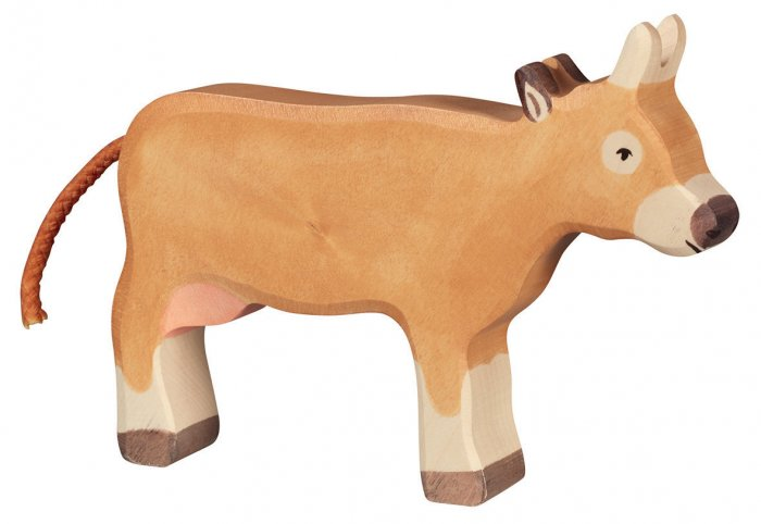 Holztiger Brown Standing Cow 2