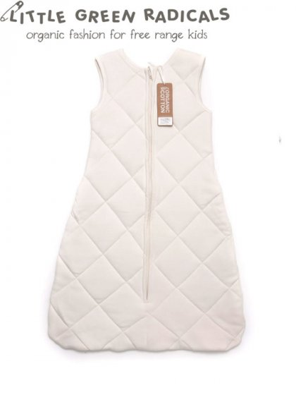 LGR Natural Baby 2.5 Tog Quilted Sleeping Bag