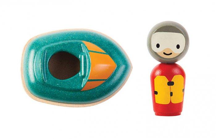 Plan Toys Speed Boat Bath Toy