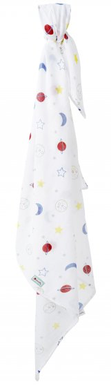 Piccalilly Planets Muslin