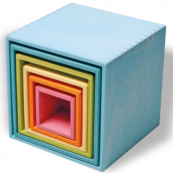 Grimm's Large Pastel Boxes Set