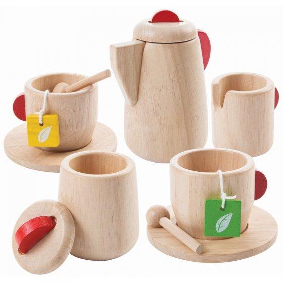 Plan Toys Tea Set Natural