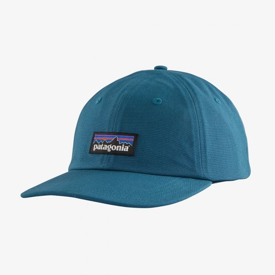 Picture of the Steller blue baseball cap. Picture has white background.