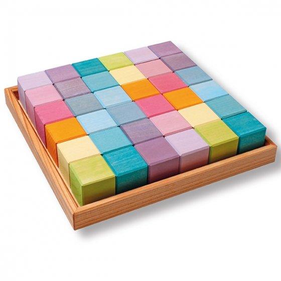Grimm's Pastel 36 Cubes