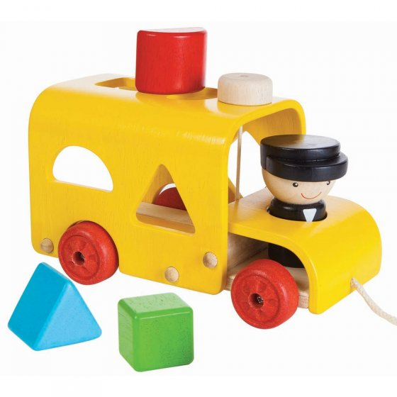 Plan Toys Sorting Bus