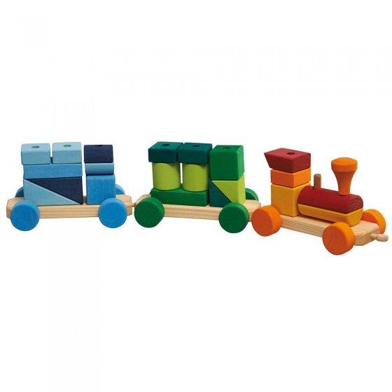 Glückskäfer Colourful Shape Train