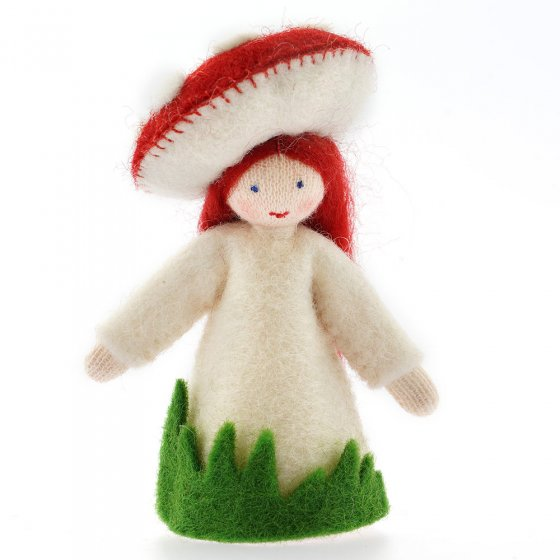 Ambrosius Red Toadstool Crown Fairy White Skin