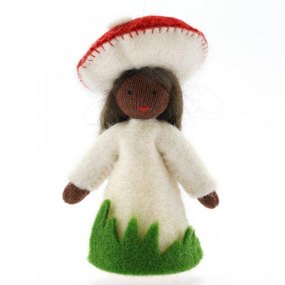 Ambrosius Red Toadstool Crown Fairy Black Skin