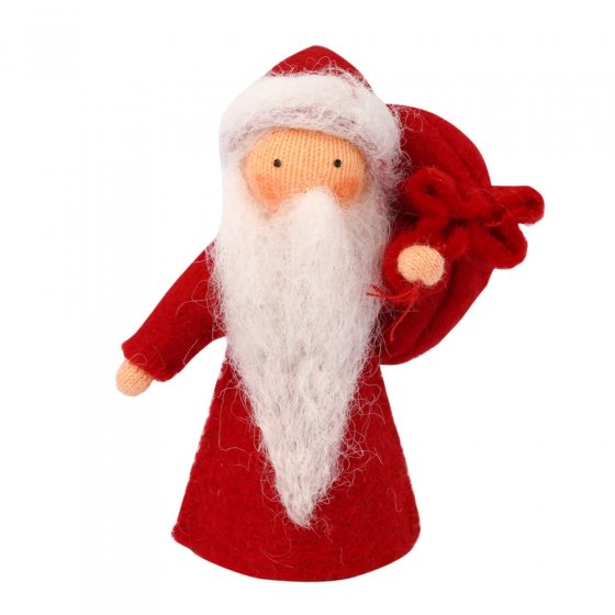 Ambrosius Father Christmas Light Brown Skin 8-10cm