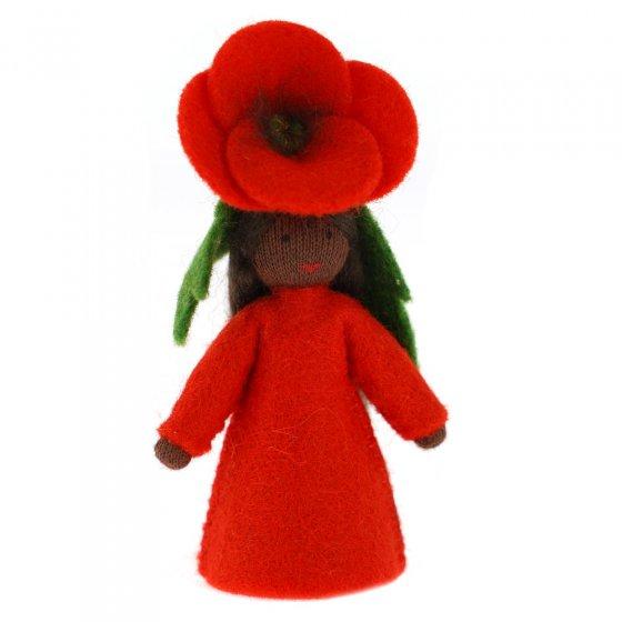 Ambrosius Poppy Crown Fairy Black Skin 7-8cm