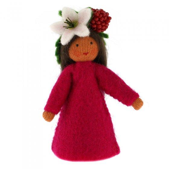 Ambrosius Raspberry Crown Fairy Dark Brown Skin 7-8cm
