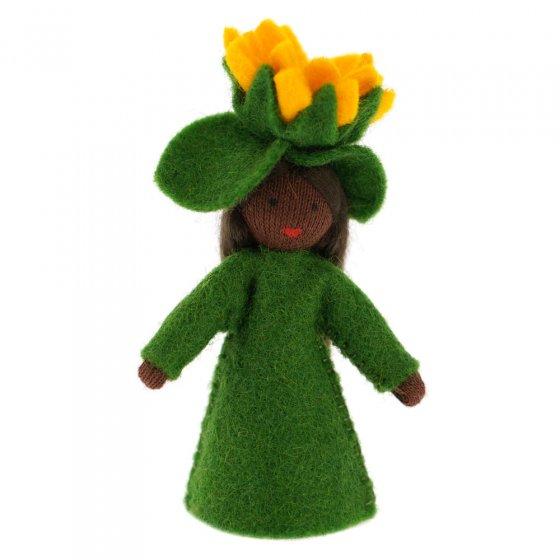Ambrosius Sunflower Crown Fairy Black Skin 7-8cm