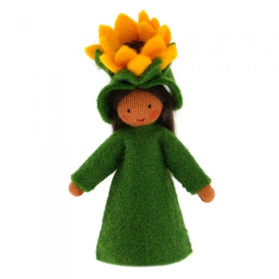Ambrosius Sunflower Crown Fairy Light Brown Skin 7-8cm
