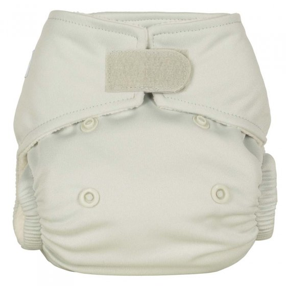 Baba + Boo Plains Newborn Nappy - Pearl
