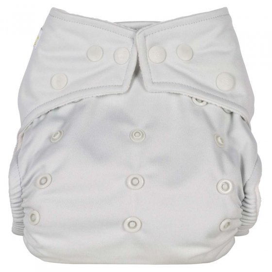 Baba + Boo Plains One-Size Nappy - Pearl
