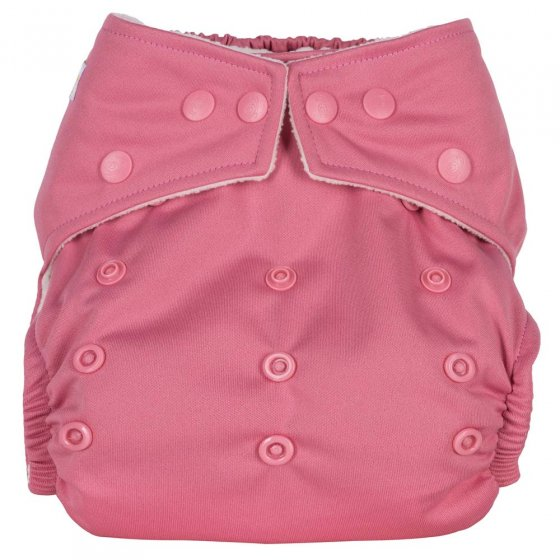 Baba + Boo Plains One-Size Nappy - Rose