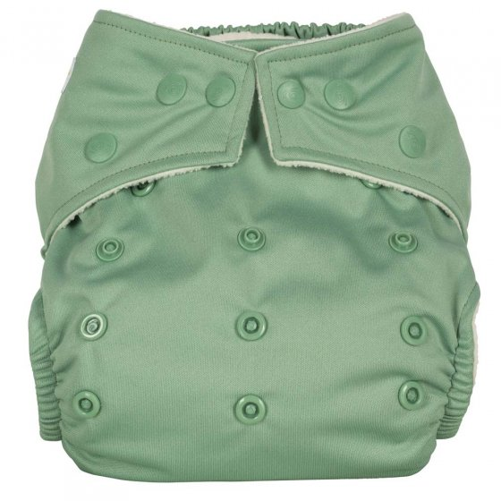 Baba + Boo Plains One-Size Nappy - Sage