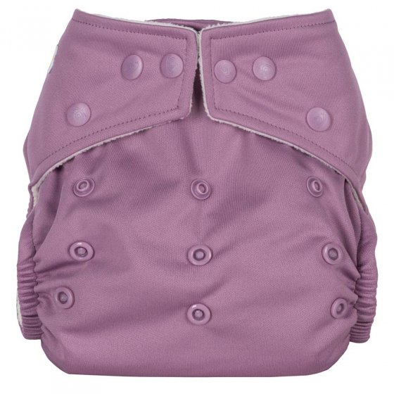 Baba + Boo Plains One-Size Nappy - Wisteria