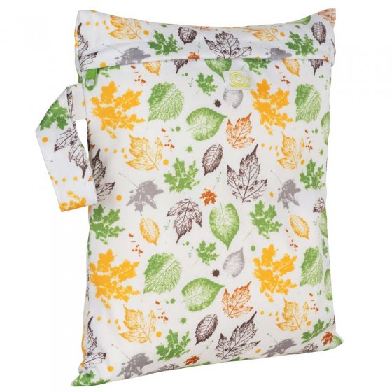 Baba + Boo Small Nappy Bag - Leaves