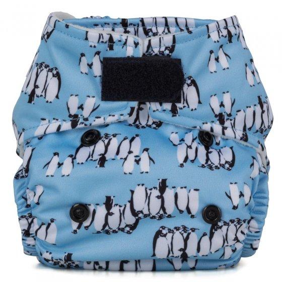 Baba + Boo Newborn Nappy - Penguins