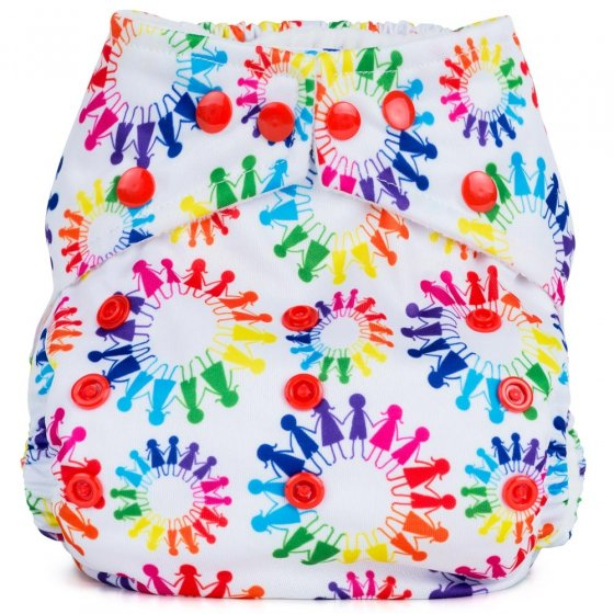 Baba + Boo One-Size Nappy - Tribes