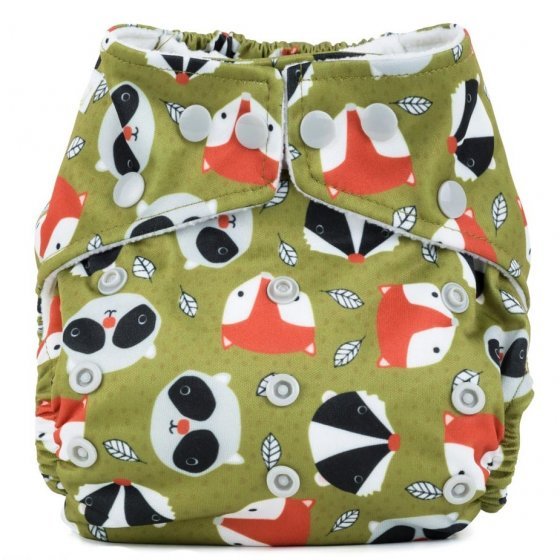 Baba + Boo One-Size Nappy - Fox and Friends