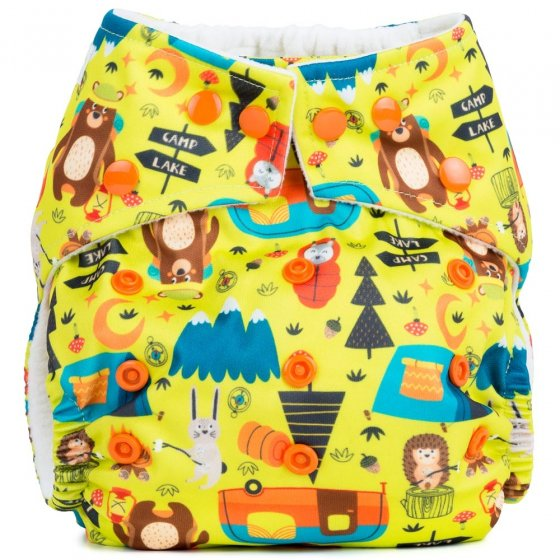 Baba + Boo One-Size Nappy - Camping