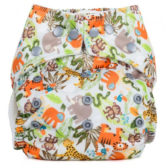 Baba + Boo One-Size Nappy - Jungle