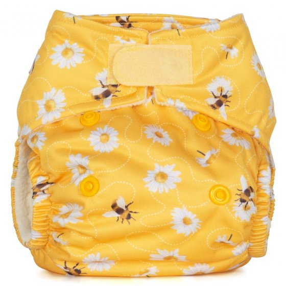 Baba + Boo Newborn Nappy - Daisies