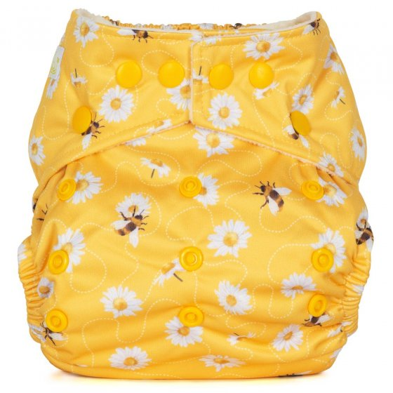 Baba + Boo One-Size Nappy - Daisies