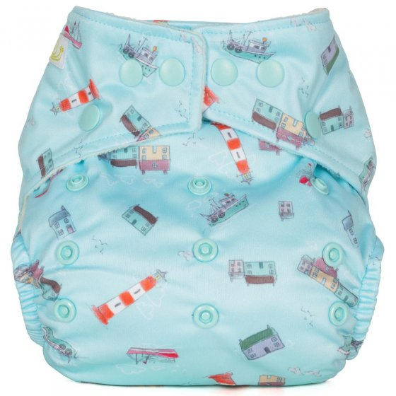 Baba + Boo One-Size Nappy - Habour